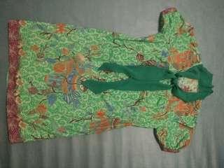 Dress Batik big size