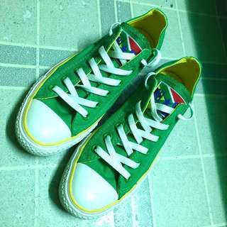 Converse Green and Yellow Sneaker
