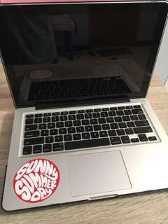 "Macbook Pro 13"" Ram 4gb Hardisk 500gb"