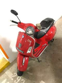 Vespa GTS 300 - Registered April 2012