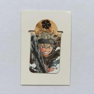 (Limited + Exclusive) Black Clover - Asta - Magnet Bookmark