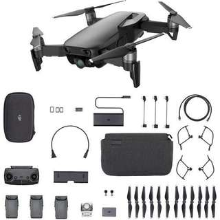 DJI Mavic Air Fly More Combo (Black,White,Red)