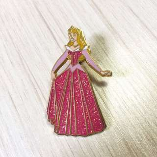 迪士尼 Disney 睡公主 Sleeping Beauty 襟章 徽章 Pin