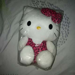 SANRIO Hello Kitty Leopard Plushie Doll