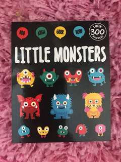 300 Mini Stickers <Little Monsters>
