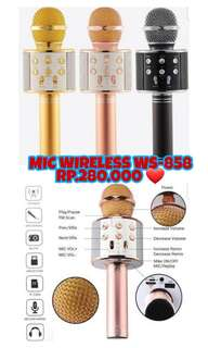 Mic Wireless WS-858 Original
