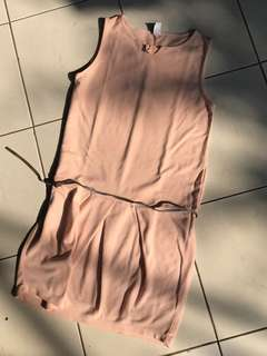 ZARA KIDS peach dress