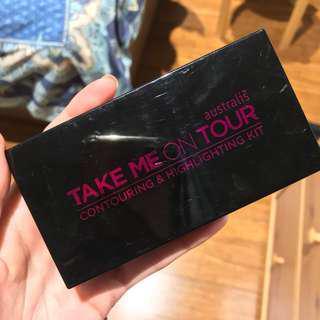 Australis Take me on tour palette