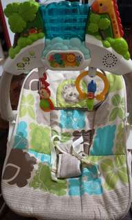 Fisher price bouncer and free ikea baby changing bag