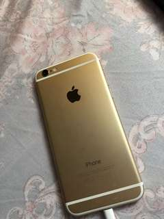 64gb Gold Iphobe 6 Japan Locked