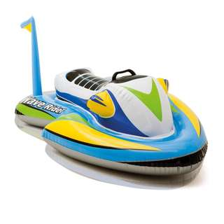 INTEX Speed Boat Ride-on Inflatable Float