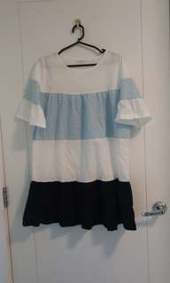 Korean Free size Dress