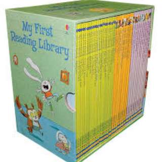 50 Usborne My First Reading Library Set - Brand New Sealed