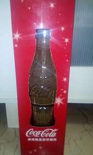 🚚 可口可樂曲線瓶造型存錢筒(高35公分 x 底徑10公分),限面交
