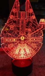 STAR WARS太空船 漸變燈