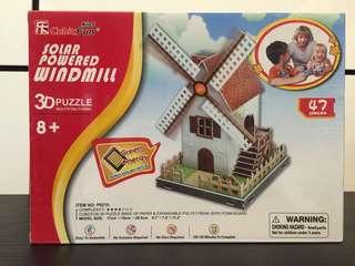Solar Powered Windmill construction kit
