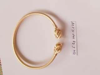 "MALABAR ITALY GOLD 18""KARAT"