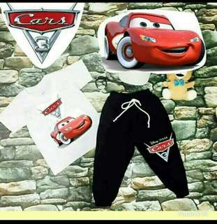 Kids terno cars design