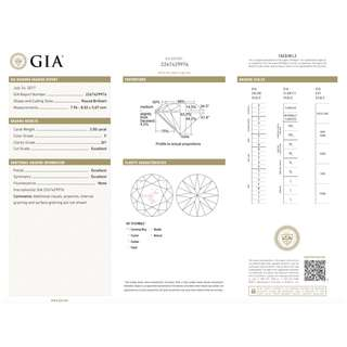 GIA Cert 鑽石2.00ct F SI1 EXEXEX None