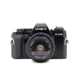 Minolta X-370n Film SLR Camera