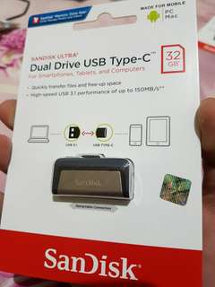 Sandisk Ultra Dual Drive Usb type C 32GB