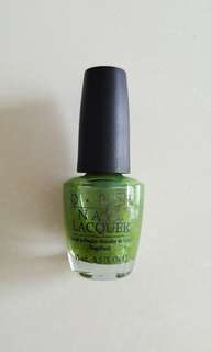OPI Call My Cell-ery NLB49 (Green Label)