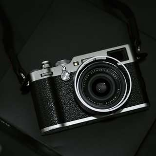 Fujifilm X100F Silver Malaysia Warranty Many Accessories