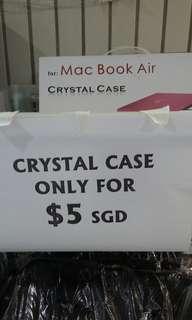 Macbook air crystal case (3 in stock)