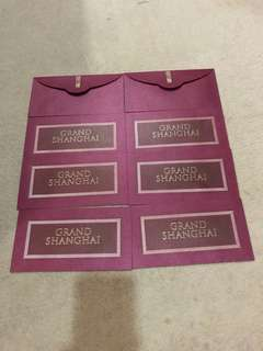 Red packet fr Grand Shanghai