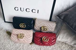 Gucci GG Marmont Super Mini Matelassé Bag