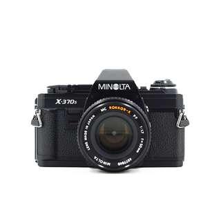 Minolta X-370s Film SLR Camera