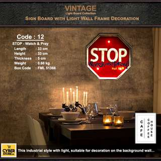 Vintage Light Board Collection_Code: 12