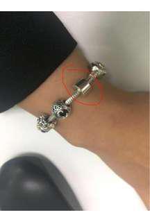 Pandora Plain Clip Charm