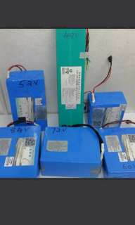 Escooter Ebike Battery
