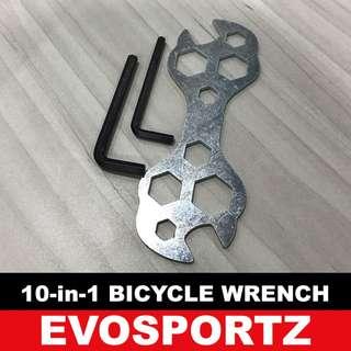 Wrench Spanner + 2 free allen keys