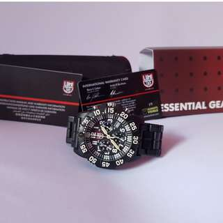 Luminox Navy Seals Chrono seri 3081 Carbon Bracelete Original