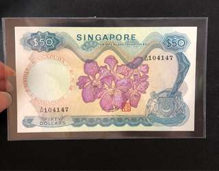 Singapore Orchid $50