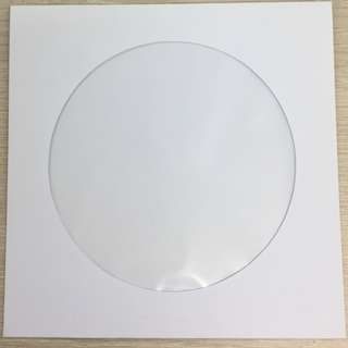 White CD Envelope (Window)