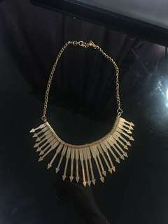 Kalung murah, gold necklace