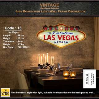 Vintage Light Board Collection_Code: 13
