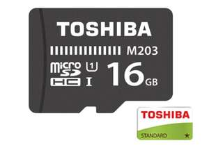 Toshiba M203 16GB Class 10 UHS Speed Class 1 MicroSD