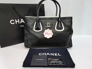 Authentic Chanel Lambskin Large Executive Cert Tote Bag SHW {{ Only For Sale }} ** No Trade ** {{ Fixed Price Non-Neg }} ** 定价 **