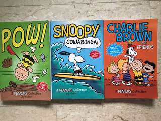 Charlie Brown Comics (set of 3)