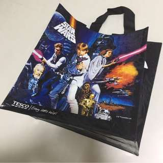 STAR WARS Shopping Bag (Tesco, UK) Brand New