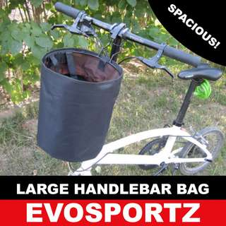 🚚 Large Handlebar Bag