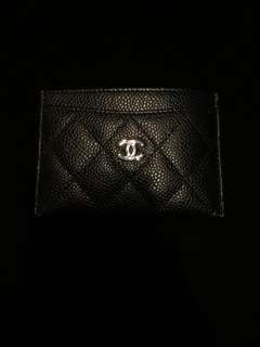 Chanel card holder full set new