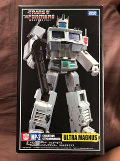 Transformers Masterpiece MP-2 Cybertron Citycommander Ultra Magnus