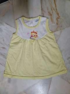 Baby Kiko Yellow Dress Size 14 (6-12M)