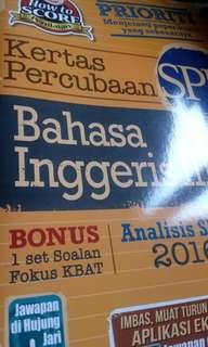 Bahasa inggeris SPM
