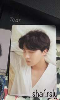 TRADE BTS Love Yourself Photocard